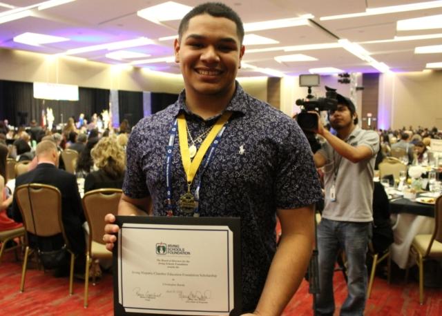 Education Foundation Scholarship Winner